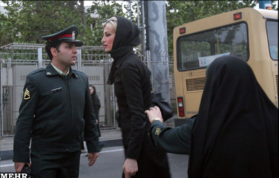  Iranian Woman Improper Veil