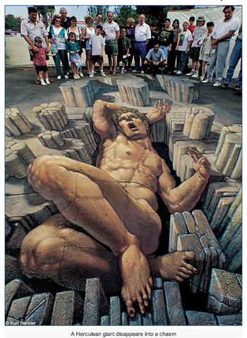 Kurt Wenner 3D Pavement Art