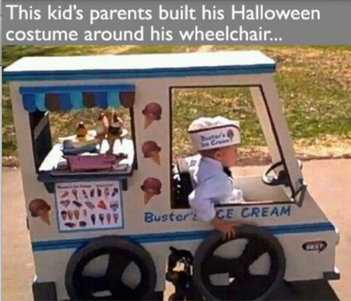-Halloween Costume Wheelchair