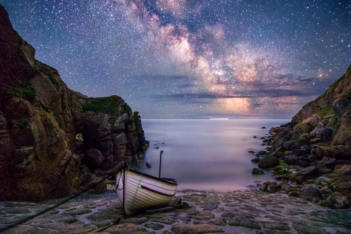 Josef Fitzgerald-Patrick 'Milkyway Over Porthgwarra Cove' Your View Youth Class Winner.Jpg