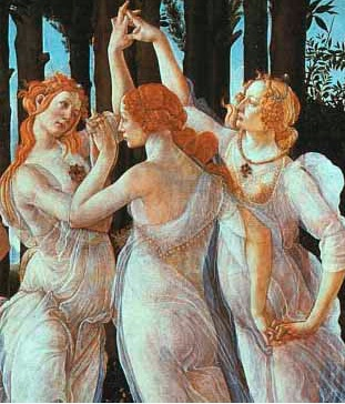 Three Graces Botticelli