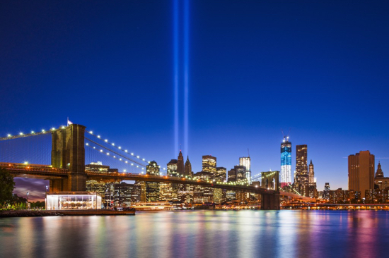 Tribute-In-Light 911 Bridge