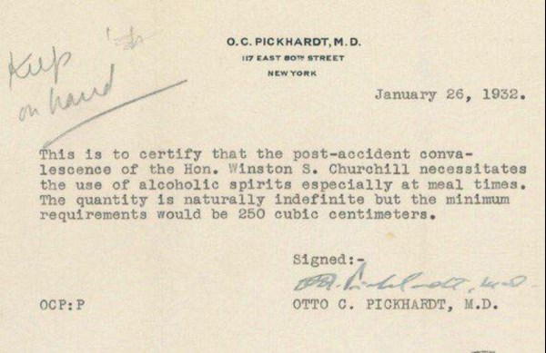 Churchill-Doctor-Note-1