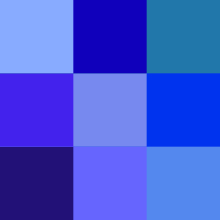 Color Icon Blue