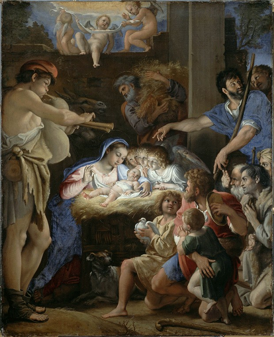 Domenichino Adoration Shepherds