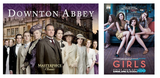 Downton V Girls