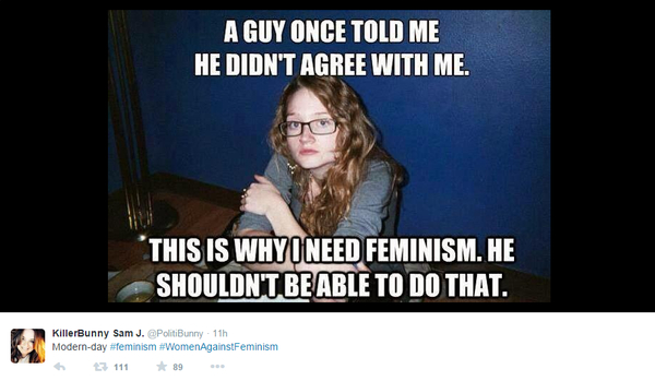 Feminism-Guy-Doesn't Agree