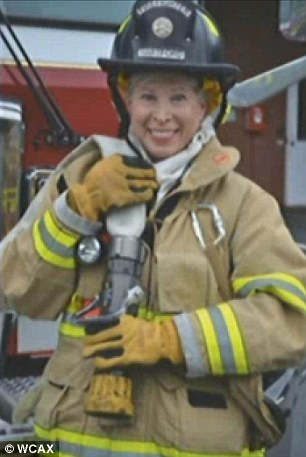 Firefighter Andrea Peterson 68