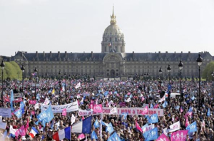 French Protest April 21 2013