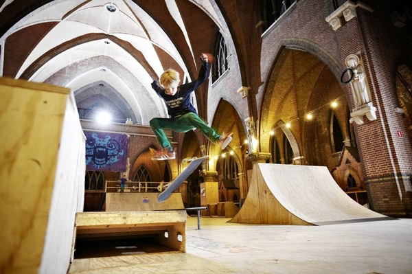 From Church To Skatepark