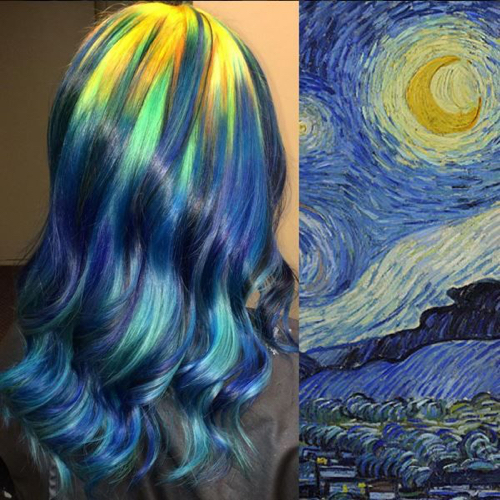 Hair Dyeing-Vangogh