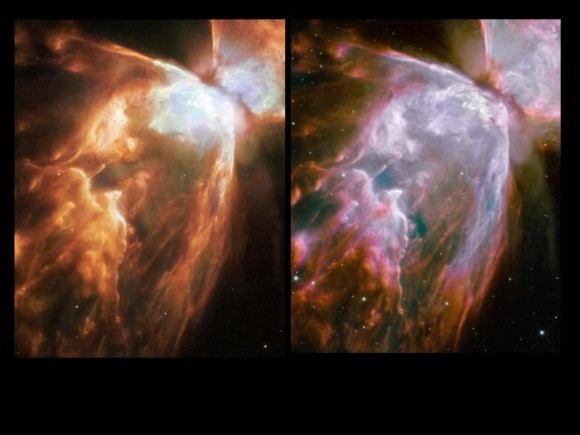 Hubble Compared