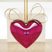 Jeff Koons Hanging Heart