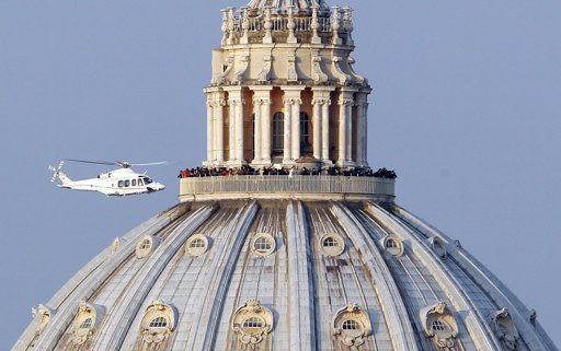 Pope Leaves Vatican