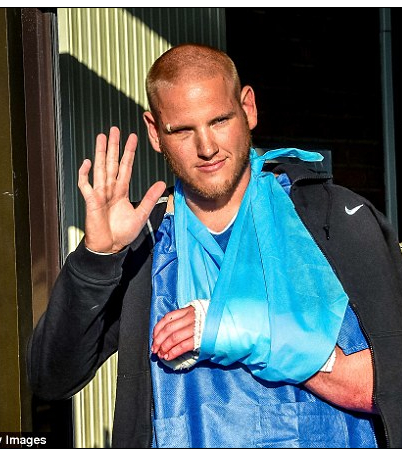 Spencer Stone Emerges From Hospital