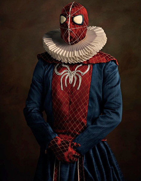 Spiderman In Flemish Style