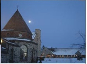  St. Joseph's Abbey Winter