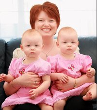  Twin Babies Save Mother's Life