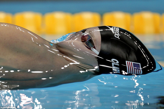 Us Swimmer Surface Tension Water