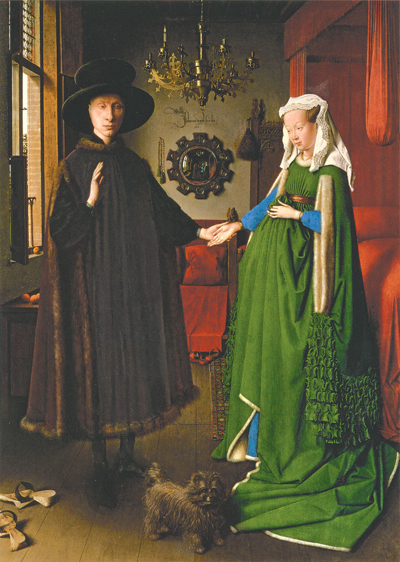 Van Eyck Wedding Green