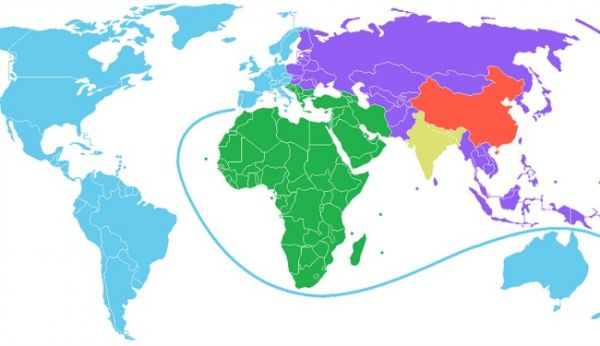 World-Map Population Same-As China