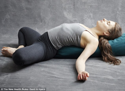 Yoga Restorative Pose
