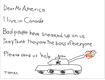 Cartoon Mr America