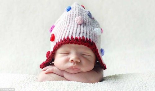 Baby Hat Sleeping