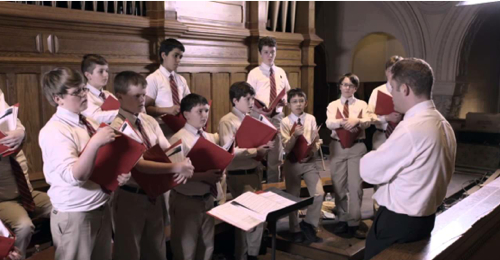 Boyschoir In Choirloft