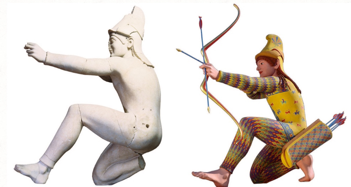 Classical Statues Were Painted