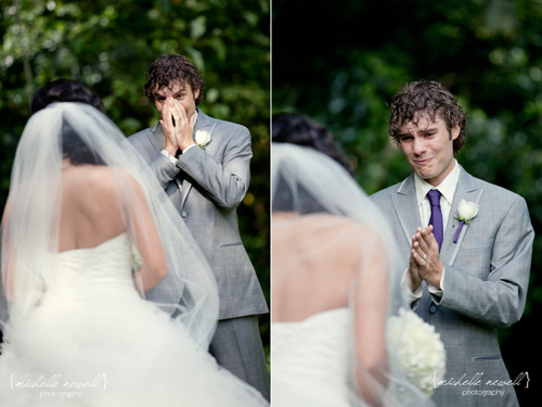Groom Blown Away By Bride