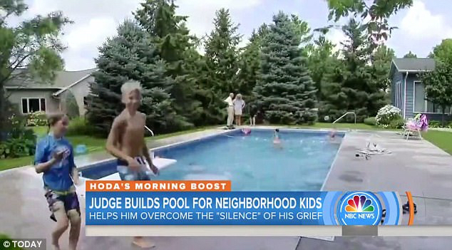 Judge 94 Builds Pool Neighborhood