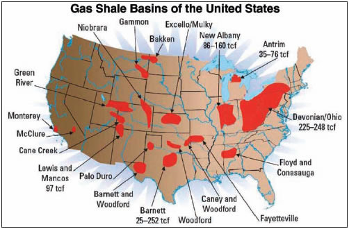 And Sorry But The New Shale Oil Riches Wont Be Entropy Wins - Us shale plays map eia