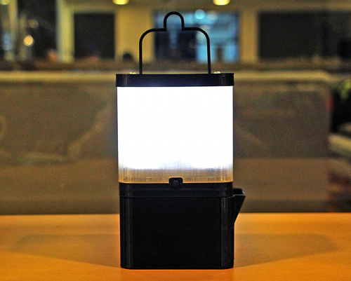 Saltwater-Powered Lantern