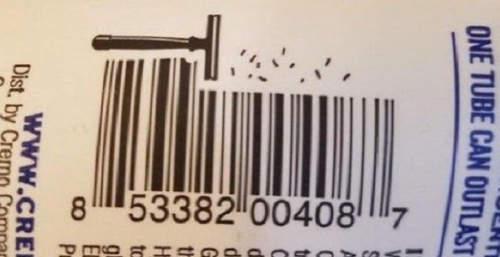 Shavingcream Barcode