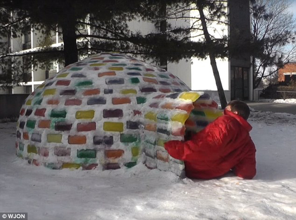 Stained Glass-Igloo