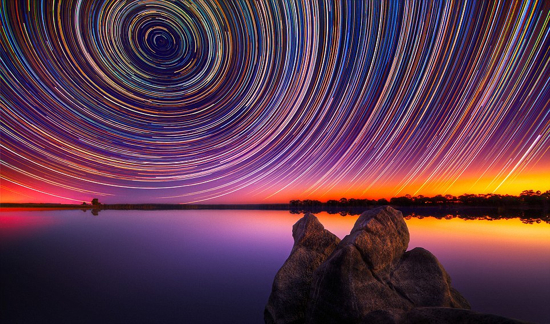 Star Trails Lincoln Harrison