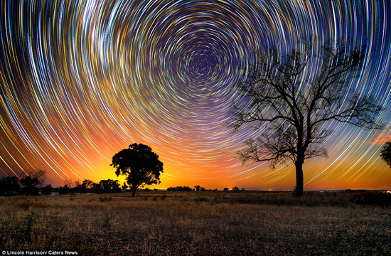 Startrails - Lincoln Harrison