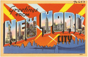 Vintage New-York-Postcard