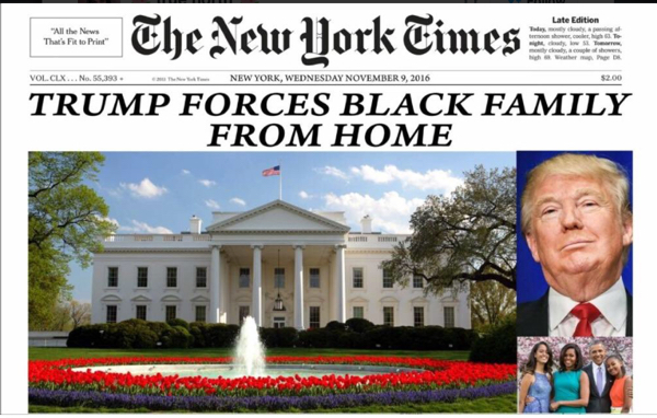 Trump Forces Black Family From Home