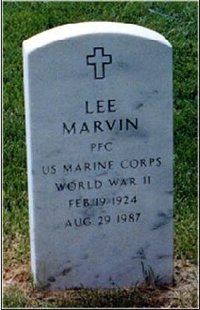   Lee Marvin Gravestone