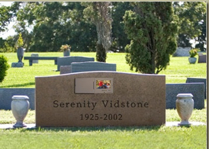   Serenity Tombstone-1