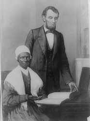 Sojourner Truth And Pres Lincoln
