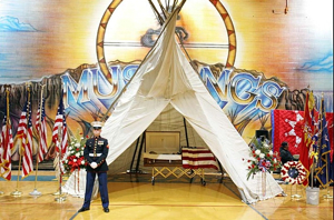 Indian Warrior Wake 2 Marine-1