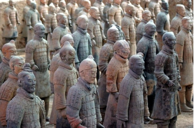  Terracotta Chinese Soldiers