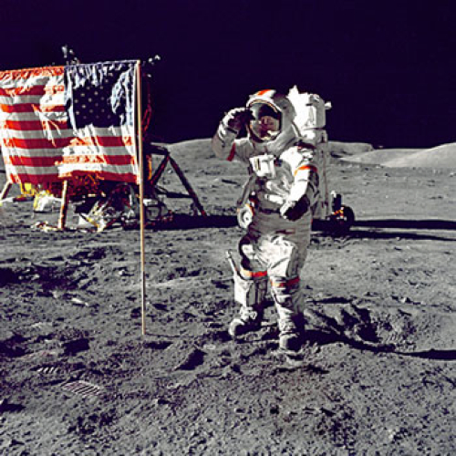 -Neil-Armstrong-American-Flag-