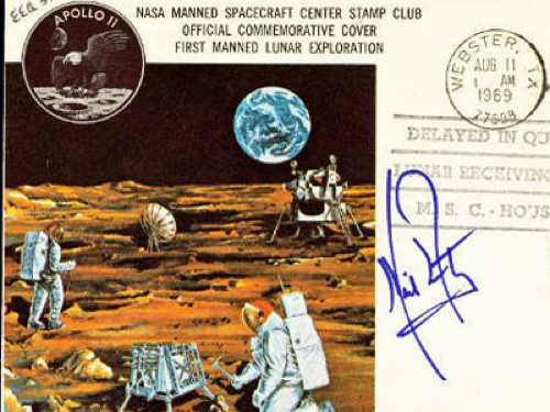 -Neil Armstrong Postal Cover