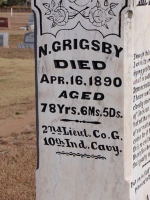 Grimbsy Tombstone 1