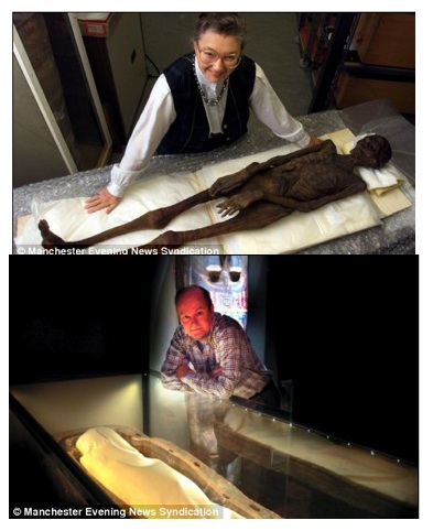 Naked Mummies Before After