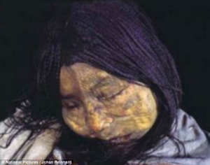 13-Year-Old Incan Princess 500 Years Old